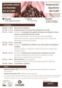 Programa Jornada Acrilamida en el Cafe_FEC
